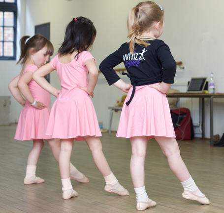 ballet classes for children taught by Maria Brodmann