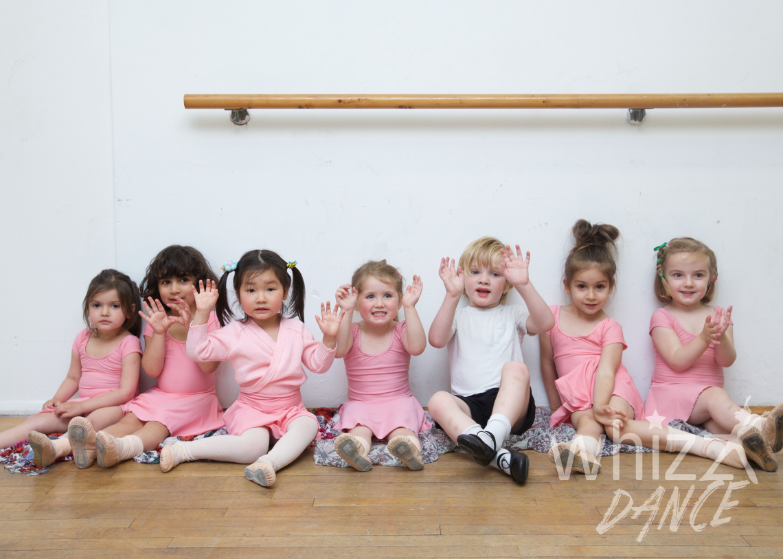Maria Brodmann teaches children and adults to dance at whizzdance, Streatham, London